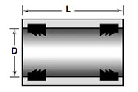 Sleeve Couplings with Gasket
